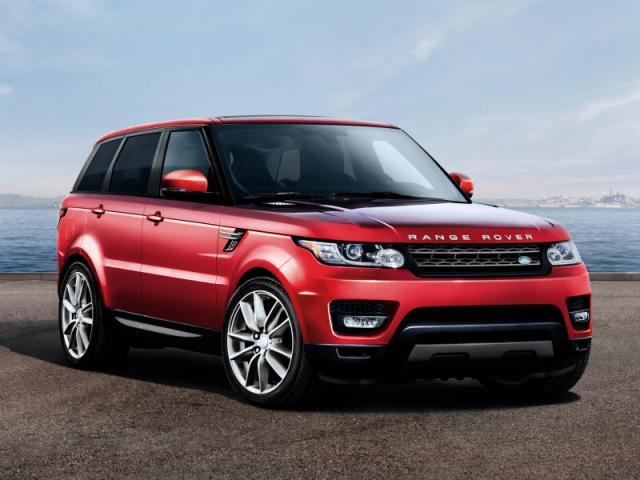 White Range Rover Sport Red Interior Floors Doors Interior Design